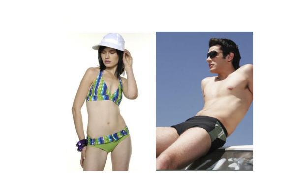 """Modelos da grife de Passos (MG) de  moda praia """"Afrodite"""""""