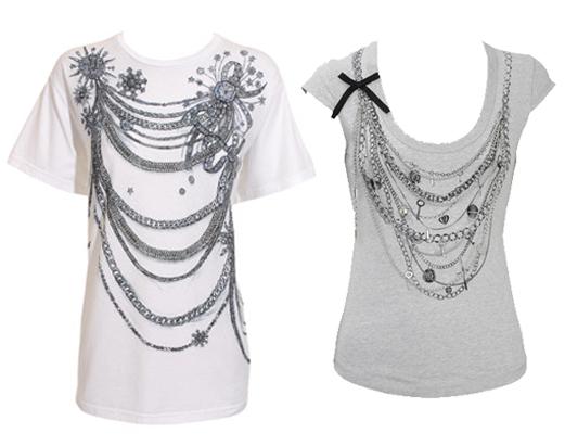 balmain necklace tshirt karen millen