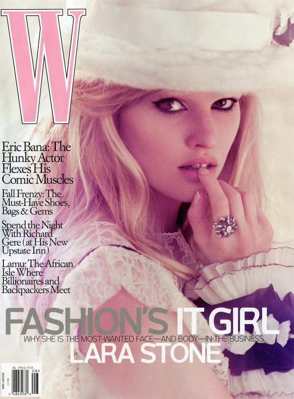 larastone_wmagazine_cover